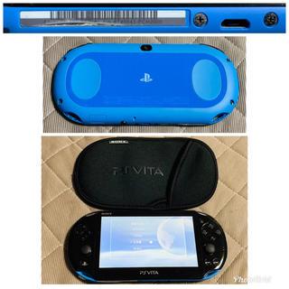 プレイステーションヴィータ(PlayStation Vita)のvita ブルーブラック 送料無料(携帯用ゲーム本体)