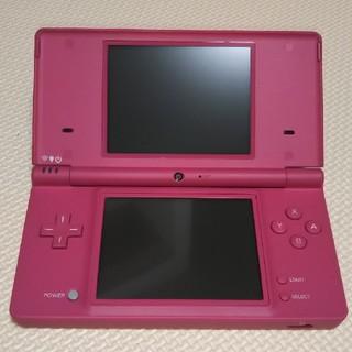 ニンテンドーDS(ニンテンドーDS)の☆任天堂 DSi ピンク 美品☆(携帯用ゲーム本体)