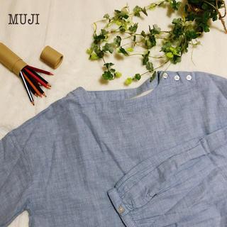 ムジルシリョウヒン(MUJI (無印良品))のMUJI naturalが好き コットンガーゼ 柔らかなトップス(シャツ/ブラウス(長袖/七分))