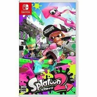ニンテンドースイッチ(Nintendo Switch)の新品 スプラトゥーン2(家庭用ゲームソフト)