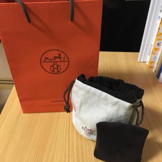 エルメス(Hermes)のHERMES♡包装紙袋 ウォッチクッション ラッピング袋(ショップ袋)