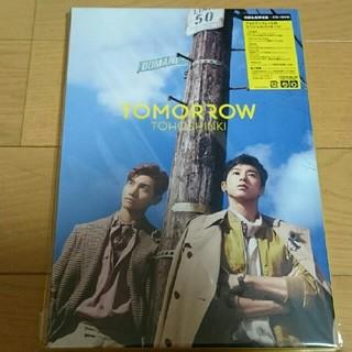 トウホウシンキ(東方神起)の東方神起 TOMORROW 初回限定盤 CD+DVD(ミュージック)