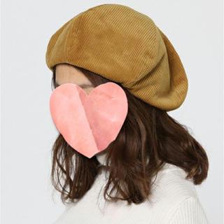 トゥデイフル(TODAYFUL)の【美品】TODAYFUL*コーデュロイ ベレー帽 (H63)(ハンチング/ベレー帽)