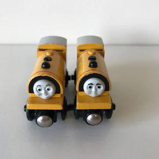 フィッシャープライス(Fisher-Price)のトーマス 木製 ビルとベン(電車のおもちゃ/車)