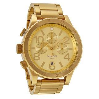 ニクソン(NIXON)のNIXON ニクソン オールゴールド 48-20 A486-502(腕時計(アナログ))