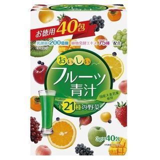 ユーワ おいしいフルーツ青汁 フルーツ味 120g(3g×40包) (青汁/ケール加工食品 )