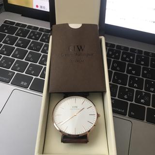 ダニエルウェリントン(Daniel Wellington)のダニエルウェリントン 腕時計(腕時計(アナログ))