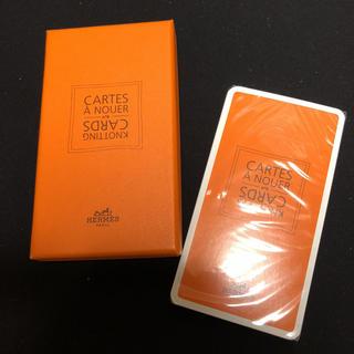 エルメス(Hermes)のHERMES エルメス KNOTTING CARDS  巻き方カード 未開封(ノベルティグッズ)