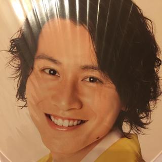 カンジャニエイト(関ジャニ∞)の関ジャニ∞  台湾公演  うちわ(安田章大さん)(アイドルグッズ)