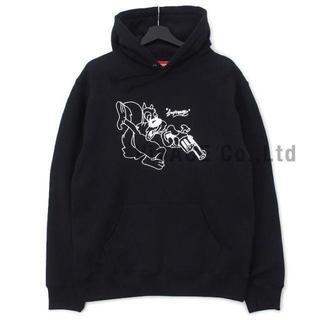 シュプリーム(Supreme)のSupreme Lee Hooded Sweatshirt 黒L(パーカー)