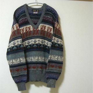 gim BRITISH WOOL セーター  (M)(ニット/セーター)