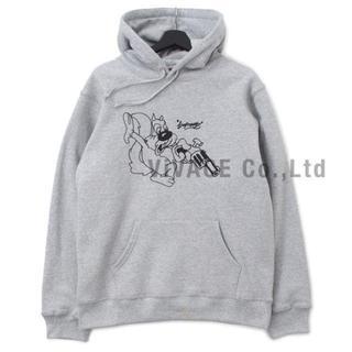 シュプリーム(Supreme)のSupreme Lee Hooded Sweatshirt グレーM(パーカー)