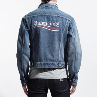 バレンシアガ(Balenciaga)の新作!balenciaga  jaket バレンシアガ  デニム ジャケット(Gジャン/デニムジャケット)