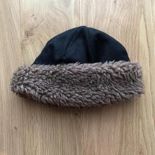 ネストローブ(nest Robe)のmature ha   マチュアーハ   ボアハット  hood cap(ニット帽/ビーニー)
