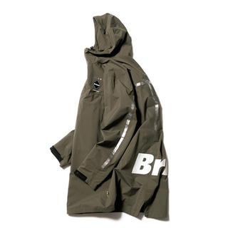 エフシーアールビー(F.C.R.B.)の黒Sか緑S 選択可能 fcrb 18aw TOUR BENCH COAT 新品(モッズコート)