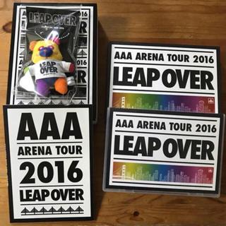 トリプルエー(AAA)のLEAP OVER 初回限定盤 DVD(ミュージック)
