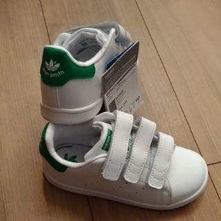 アディダス(adidas)のアディダス スタンスミス ベルクロ ホワイト/グリーン  19.0cm (スニーカー)