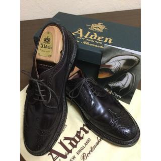 オールデン(Alden)のオールデン 未使用品 975 コードバン(ドレス/ビジネス)
