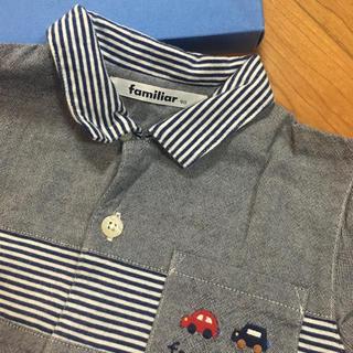 familiar - ♡美品♡ ファミリア 男の子 ポロシャツ 90