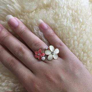 アクセサリーズブラッサム(Accessories Blossom)のアクセサリーズブロッサム  お花リング(リング(指輪))