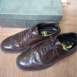 リーガル(REGAL)のKENFORD 革靴 ウィングチップ K105 ワイン 25.5cm【送料込】(ドレス/ビジネス)