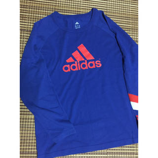 アディダス(adidas)のアディダス  adidas  長袖  Tシャツ  160(Tシャツ/カットソー)