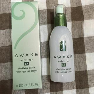 アウェイク(AWAKE)の新品 アウェイク awake エクスフォリザーEX ふきとり美容液 180ml(美容液)