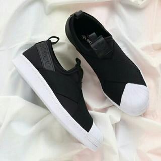 adidas - 23.5cm スーパースター スリッポン adidas アディダス
