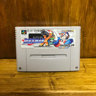 スーパーファミコン(スーパーファミコン)のSFC スーパーファミコン ロックマンX3(家庭用ゲームソフト)