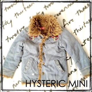 ヒステリックミニ(HYSTERIC MINI)のヒスミニ コート 美品 100(その他)