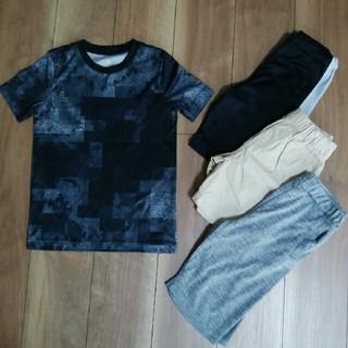 アディダス(adidas)のT-shirt ハーフパンツ 4点セット 120 130(Tシャツ/カットソー)