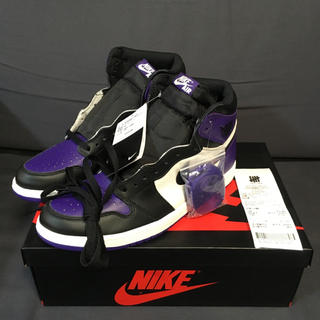 NIKE - 29.0cm/正規品 NIKE AIR JORDAN 1 PURPLE パープル