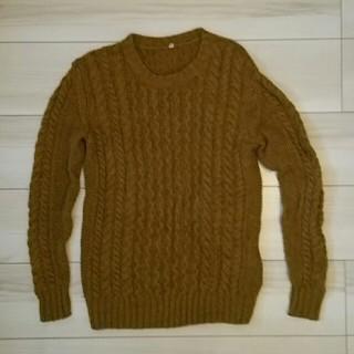 ムジルシリョウヒン(MUJI (無印良品))の無印 リブニットセーター(ニット/セーター)