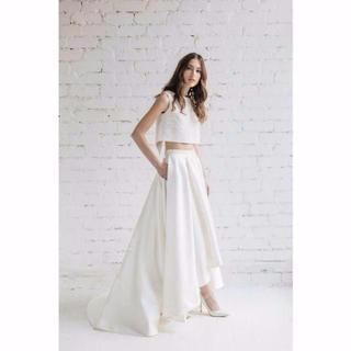閉じるバック   ツーピース フィッシュテール セパレート ウエディングドレス(ウェディングドレス)