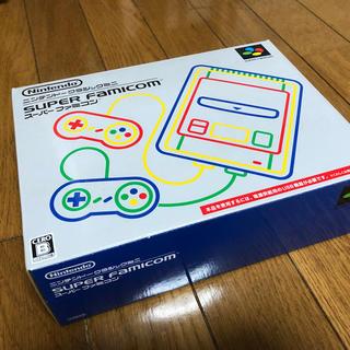 ニンテンドウ(任天堂)のスーパーファミコンミニ ニンテンドークラシック(家庭用ゲーム本体)