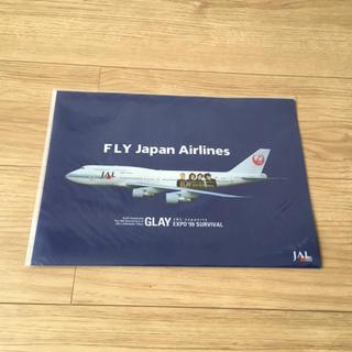 ジャル(ニホンコウクウ)(JAL(日本航空))のJAL クリアファイル(クリアファイル)