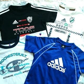 アディダス(adidas)のadidas&champion Tシャツ 120cm 3枚セット(Tシャツ/カットソー)