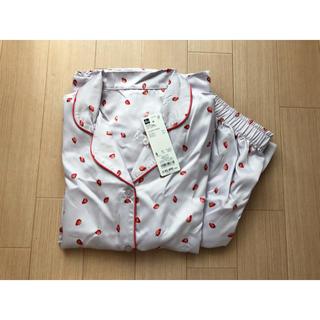 ジーユー(GU)の【新品】gu♡いちご柄パジャマ♡(パジャマ)