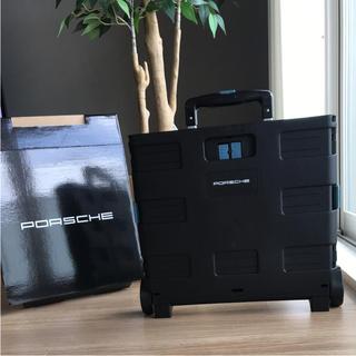 ポルシェ(Porsche)の【新品未使用】PORSCHE ポルシェ ストレージキャリーボックス 非売品(その他)