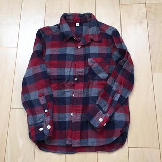 MUJI (無印良品) - 無印良品 ネルシャツ