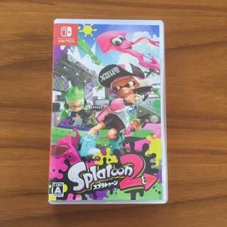 ニンテンドウ(任天堂)のSwitch スイッチ スプラトゥーン2(家庭用ゲームソフト)