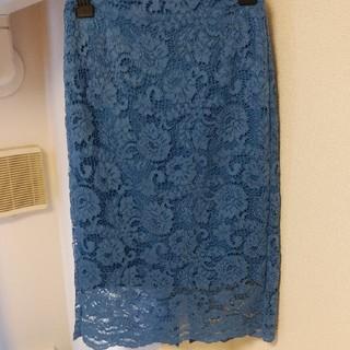 ジーユー(GU)のジーユー GU レースタイトスカート(ひざ丈スカート)