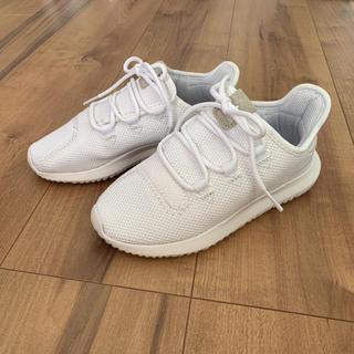 アディダス(adidas)のadidas チュブラー キッズ 19cm ホワイト 未使用 アディダス(スニーカー)