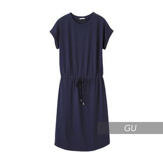 ジーユー(GU)の◻️GU◻️ ミディワンピース L(ひざ丈ワンピース)