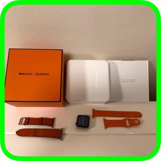 エルメス(Hermes)のApple Watch HERMES エルメス 42mm アップルウォッチ フー(腕時計(デジタル))