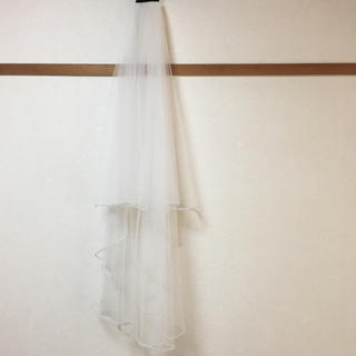 タカミ(TAKAMI)のAnna様専用♡美品♡タカミブライダル ♡ビジューベール♡ミドル丈♡オフホワイト(ウェディングドレス)