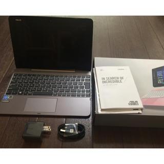 エイスース(ASUS)のタブレットASUS 2in1 TransBook T101HA-GRAY(タブレット)