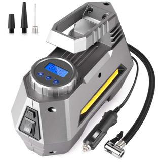 車用空気入れ エアコンプレッサー DC12V(メンテナンス用品)
