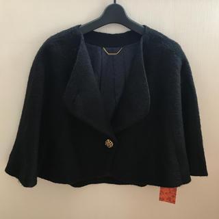 リリーブラウン(Lily Brown)の新品 タグ付き♡リリーブラウン ウールポンチョ風ジャケット ♡(ポンチョ)