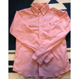 ラルフローレン(Ralph Lauren)のラルフローレン 160 ピンク キッズ レディース ボタンダウン(その他)
